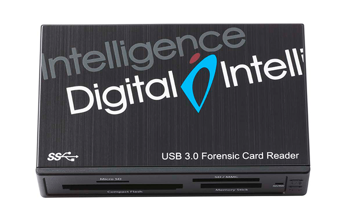 Forensic card reader front top 34