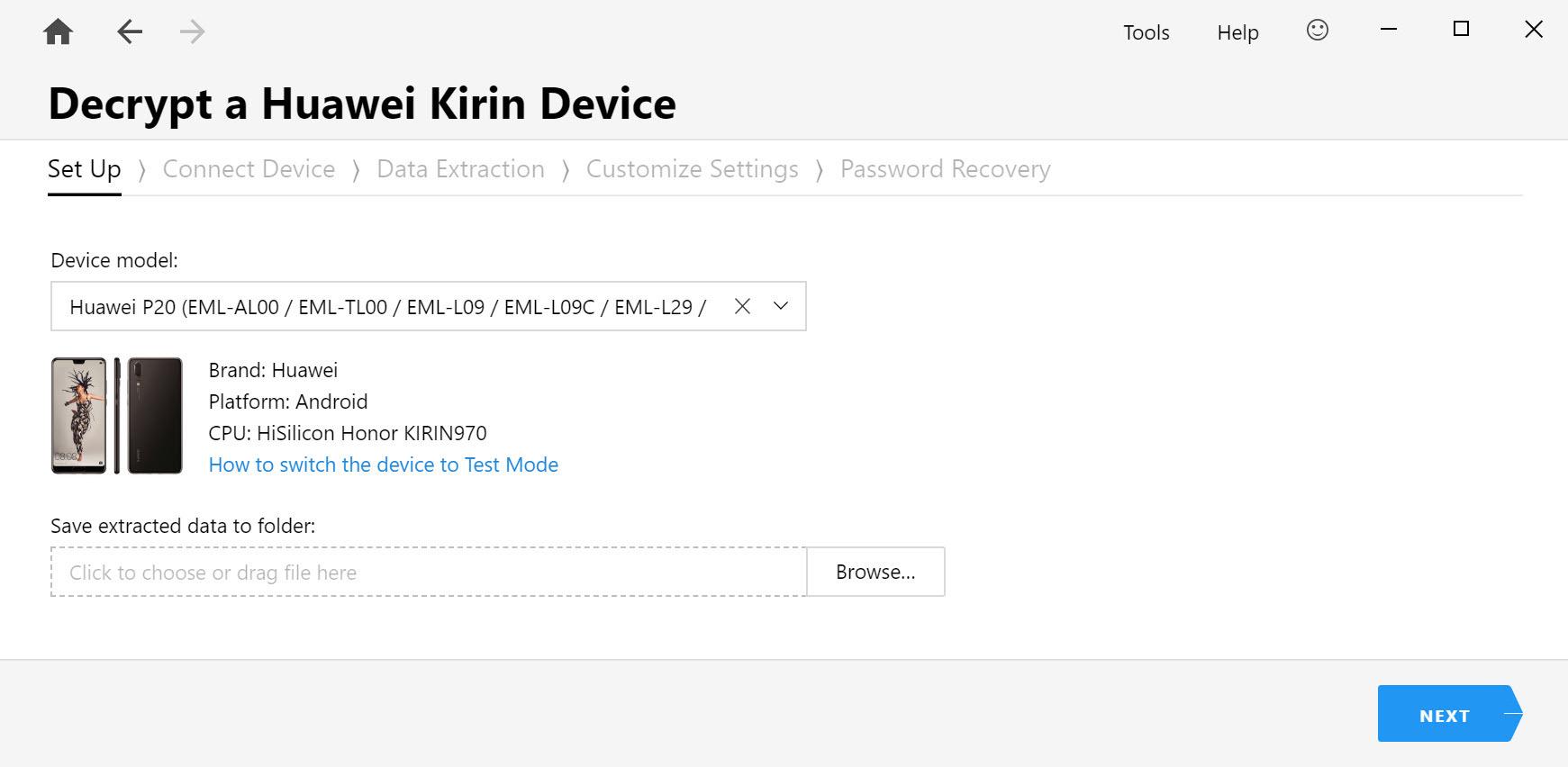 Passware kit mobile huawei